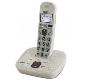 D714 DECT 6.0 Amplified/Low Vision Cordless Phone with Answering Machine
