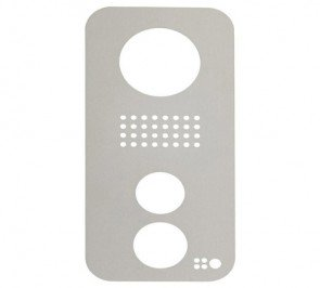 DoorBird Faceplate for D21xKV IP Video Door Station Brushed Stainless Steel (V2A)