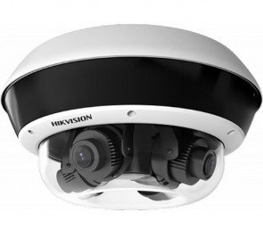 Hikvision PanoVu Series DS-2CD6D54FWD-Z 20MP Outdoor 4-Sensor Network Dome Camera with Night Vision