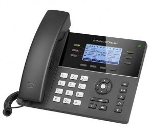 Grandstream GS-GXP1760W Mid-range IP 6-Line phone Integrated with Wi-Fi 4.6""