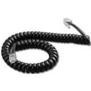 Panasonic KX-NT500 Series 9 Ft Black Handset Cord (In Factory Sealed Bag)