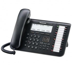 Panasonic KX-DT546-B Digital Proprietary Phone (Black)