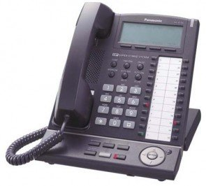 Panasonic KX-NT136 IP Telephone with 6-Line Backlit LCD Speaker Phone Black