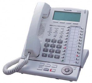 Panasonic KX-NT136 IP Telephone with 6-Line Backlit LCD Speaker Phone White