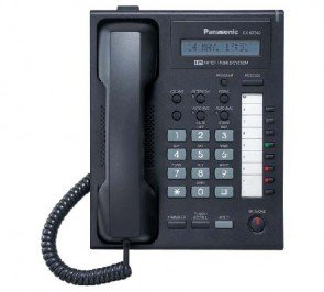 Panasonic KX-NT265 12 Key 1-Line Backlit LCD Speakerphone Black