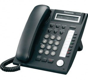 Panasonic KX-NT321-B Corded VOIP Phone Black