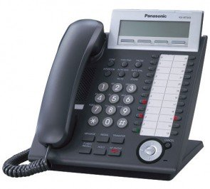 Panasonic KX-NT343-B VOIP Phone Black