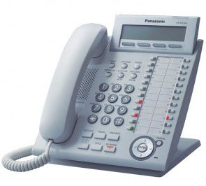 Panasonic KX-NT343 VOIP Phone White