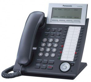 Panasonic KX-NT346-B VOIP Phone Black