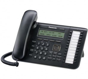 Panasonic KX-NT543-B 24 Buttons 3-Line Backlit LCD VOIP Phone