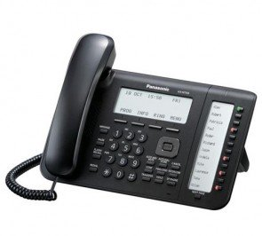 Panasonic KX-NT556-B 6-Line Backlit Lcd Display IP Phone (Black)