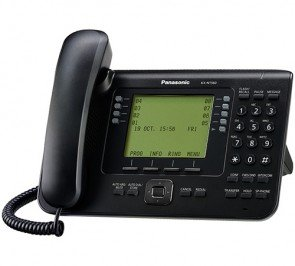Panasonic KX-NT560-B Executive Backlit Lcd Display VOIP Phone