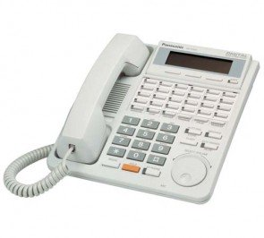 Panasonic KX-T7433 24 Button Speakerphone With 3-Line Display White