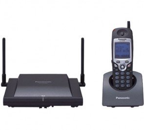 Panasonic KX-TD7896 Cordless Telephone Black