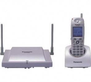 Panasonic Refurbished KX-TD7896W Cordless Telephone White