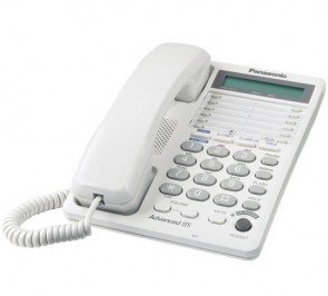 Panasonic KX-TS208W 2-line Integrated 16-Digit LCD Corded Phone