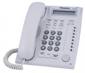 Panasonic KX-DT321 Digital Phone White