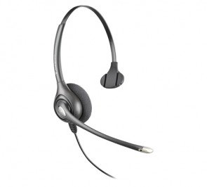 Plantronics SupraPlus Wideband HW251N Noise Canceling Monaural Office Headset