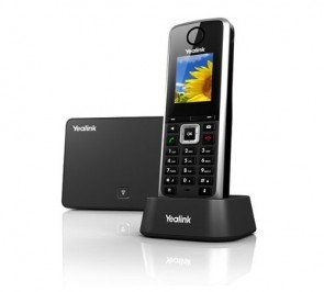 Yealink SIP-W52P Wireless DECT Cordless Handset and Base Unit