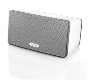 SONOS PLAY:3 Smart Speaker for Streaming Music (White)