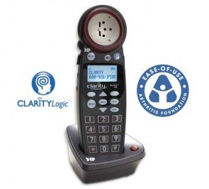 Clarity  XLC3.5HSB Expandable Handset for XLC3.4, Fortissimo, Giant and C4220+