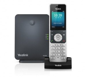 Yealink W60P Cordless SIP DECT IP Phone System for VoIP voiSip etc