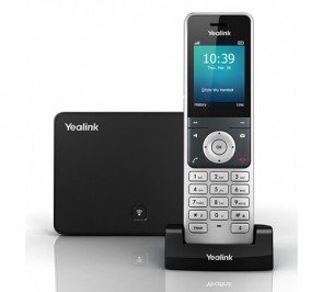 Yealink YEA-W56P Wireless HD IP Dect Cordless Voip Phone and Device