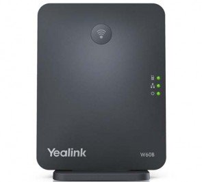 Yealink W60B 8 Line HD VoIP DECT IP Base Cordless Station FBA