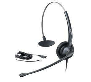 Yealink YHS33 Wired Headset with Enhanced Noise Canceling